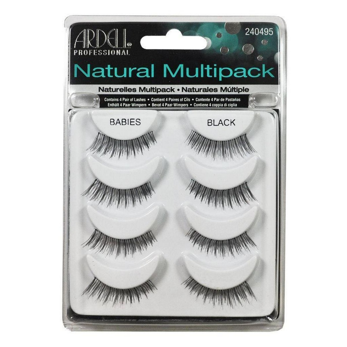 3584f98097f Ardell Babies Natural Black Multi Pack Lashes - Miisee