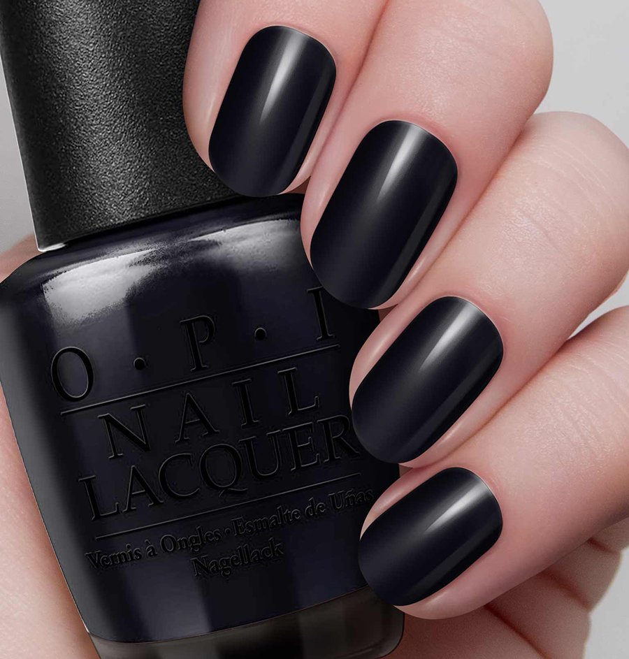 OPI Nail Lacquer - Lady in Black 15ml - Miisee